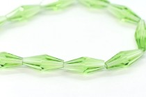 Peridot 5205 6x15mm Swarovski Elements Crystal Elongated Bicone Bead