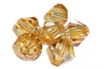 Crystal Brandy 5301/5328 Swarovski ®: Crystal with third-party coating,Bicone Bead