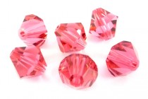 Indian Pink 5301 Swarovski Crystal Bicone Bead