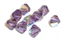Lilac AB 5301/5328 Swarovski Elements  Crystal Bicone Bead