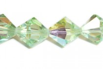 Chrysolite AB 5301/5328 Swarovski Crystal Bicone Beads - Factory Pack Quantity