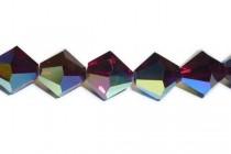 Garnet AB 5301/5328 Swarovski Crystal Bicone Beads - Factory Pack Quantity