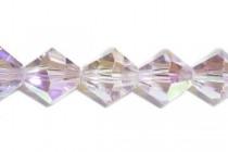 Light Amethyst AB 5301/5328 Swarovski Elements Crystal Bicone Beads