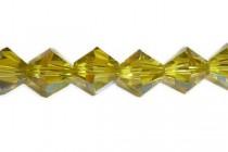 Lime AB 5301/5328 Swarovski Elements Crystal Bicone Beads