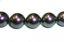 Crystal Iridescent Purple - Swarovski Round Pearls 5810