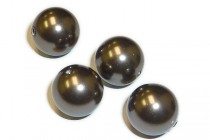 Crystal Brown - Swarovski Round Pearls 5810/5811