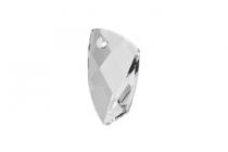 Crystal Clear Swarovski Crystal Avant-Garde Pendant 6620