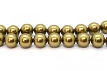 Crystal Antique Brass - Swarovski Round Pearls 5810/5811