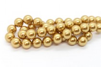 Crystal Bright Gold - Swarovski Round Pearls 5810 - Factory Pack Quantity