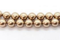 Crystal Bronze - Swarovski Round Pearls 5810