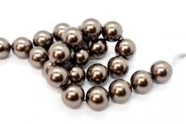Crystal Brown - Swarovski Round Pearls 5810/5811