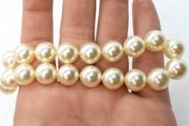 Crystal Creamrose Light - Swarovski Round Pearls 5810