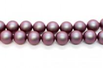 Crystal Iridescent Red - Swarovski Round Pearls 5810