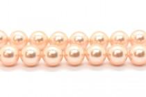 Crystal Peach - Swarovski Round Pearls 5810 - Factory Pack Quantity