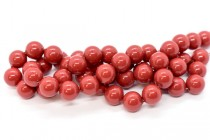 Crystal Red Coral - Swarovski Round Pearls 5810