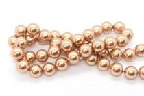 Crystal Rose Gold - Swarovski Round Pearls 5810/5811