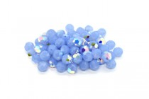 Air Blue Opal AB Swarovski Crystal Round Beads 5000