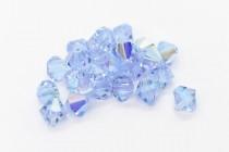 Alexandrite AB Swarovski Crystal Bicone Beads 5301/5328