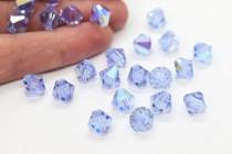 Alexandrite AB 5301/5328 Swarovski Crystal Bicone Beads