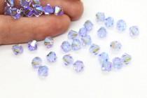 Alexandrite AB2x 5301/5328 Swarovski Elements Crystal Bicone Bead