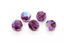Amethyst AB Swarovski Crystal Round Beads 5000