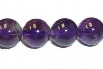 Amethyst Round Gemstone Beads- AA Grade