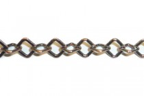 Antique Copper Diamond Chain 5mm