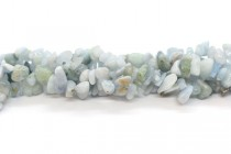 Aquamarine (Natural) AA Grade Chip Gemstone Beads