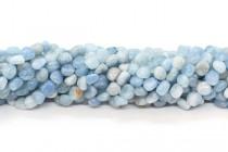 Aquamarine (Natural) A Grade Nugget Gemstone Beads