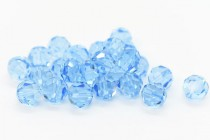 Aquamarine 5000 Swarovski Elements Crystal Round Beads
