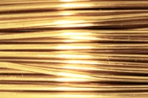 Artistic Wire® Tarnish Resistant Brass 18 Gauge 10 Yards