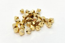 Aurum 2x Swarovski Crystal Bicone Beads 5301/5328