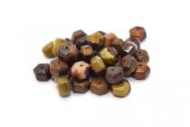 Australian Riverstone (Natural) Six Sided Drum Gemstone Beads