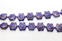 Cobalt Blue Cloisonne