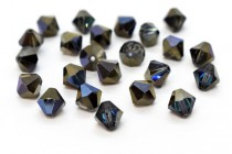 Crystal Bermuda Blue Swarovski Crystal Bicone Beads 5301/5328