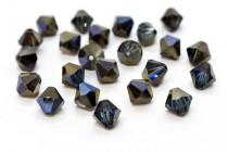 Bermuda Blue Swarovski Crystal Bicone Beads 5301/5328 - Factory Pack