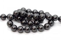 Crystal Black - Swarovski Round Pearls 5810