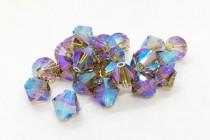 Black Diamond AB2x Swarovski Crystal Bicone Beads 5301/5328 - Factory Pack Quantity