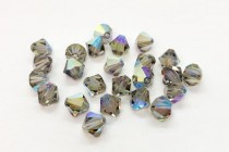 Black Diamond AB Swarovski Crystal Bicone Beads 5301/5328