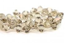 Greige 6301 Swarovski Crystal Top-Drilled Bicone