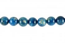 Apatite (Natural) A Grade Round Gemstone Beads