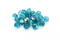 Blue Zircon AB Swarovski Crystal Round Beads 5000 - Factory Pack Quantity