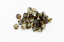 Crystal Bronze Shade Swarovski Crystal Bicone Beads 5301/5328