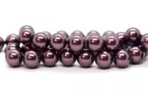 Crystal Burgundy - Swarovski Round Pearls 5810/5811