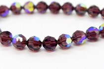 Burgundy AB 5000 Swarovski Elements Crystal Round Bead