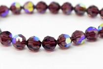 Burgundy AB Swarovski Crystal Round Beads 5000 - Factory Pack