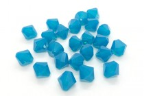 Caribbean Blue Opal Swarovski Crystal Bicone Beads 5301/5328 - Factory Pack Quantity