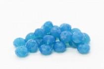 Caribbean Blue Opal 5040 Swarovski Crystal Faceted Briolette (Rondelle ) Bead
