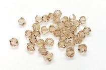 Ceylon Topaz Swarovski Crystal Bicone Beads 5301/5328