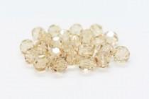 Ceylon Topaz Swarovski Crystal Round Beads 5000 - Factory Pack Quantity